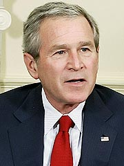 Man Drives Car onto George W. Bush's Lawn (Accidentally!)