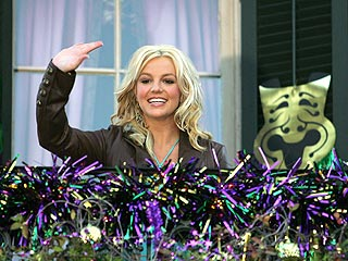 Britney Celebrates Mardi Gras