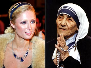 Paris Hilton Eyed for Mother Teresa Role
