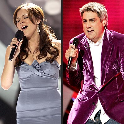 KATHARINE VS. TAYLOR photo | American Idol, Katharine McPhee, Taylor Hicks
