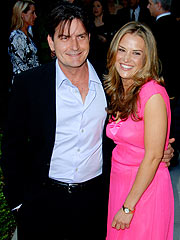 Charlie Sheen Steps Out With His New Girlfriend