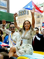 J.Lo, Anthony Lead Puerto Rican Day Parade