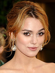 Keira Knightley Ready to Party at Golden Globes