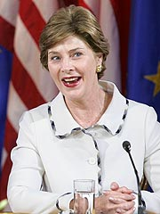 Laura Bush Delivers Feisty GOP 'Straight Talk'