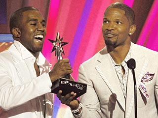 Jamie Foxx, Kanye West Win Big at BETs