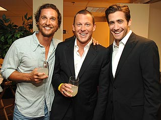 Lance Gets Bawdy at the ESPY Awards  Lance Armstrong, Individual Class, Jake Gyllenhaal