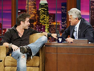 Woman Confronts Colin Farrell on Tonight Show| Colin Farrell