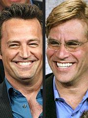 Matthew Perry & Aaron Sorkin Joke About Drugs | Aaron Sorkin
