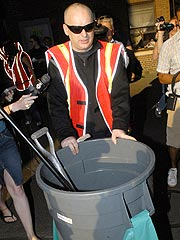 Boy George Cleans Streets in New York | Boy George