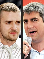 Justin: Taylor Hicks 'Can't Carry a Tune' | Justin Timberlake, Taylor Hicks
