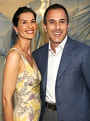 Matt Lauer, Wife Welcome A Boy