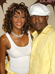 Whitney Houston and Bobby Brown 'On Good Terms'