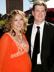 Christa Miller and husband