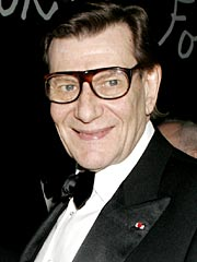 Yves Saint Laurent Collapses in Paris