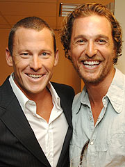 Lance Armstrong & Matthew McConaughey: We're Not Gay