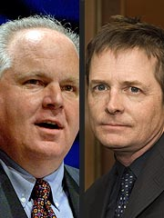 Michael J. Fox Responds to Limbaugh | Michael J. Fox, Rush Limbaugh
