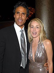 Rick Fox and Sharon Stone: 'Just Friends'