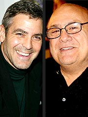 Clooney Had 'Brutal Night' Drinking with DeVito