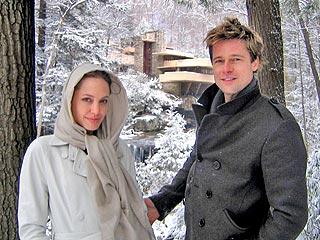 Angelina Jolie Gives Brad Pitt a House Tour for His Birthday