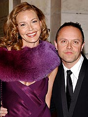 Connie Nielsen, Lars Ulrich Expecting