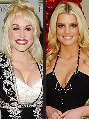 Dolly Parton to Jessica Simpson: No Hard Feelings