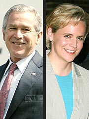 George Bush Says He's 'Happy' for Mary Cheney