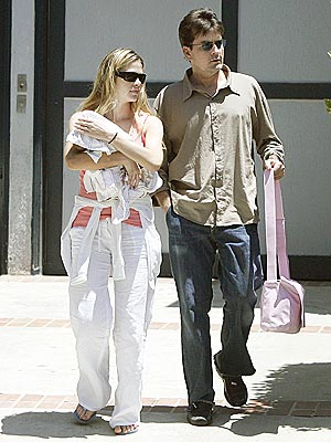 photo | Charlie Sheen, Denise Richards