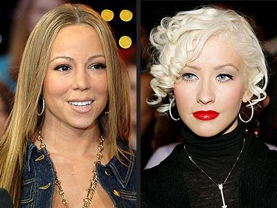 CHRISTINA vs. MARIAH photo | Christina Aguilera, Mariah Carey