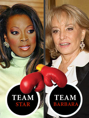 photo | Barbara Walters, Star Jones