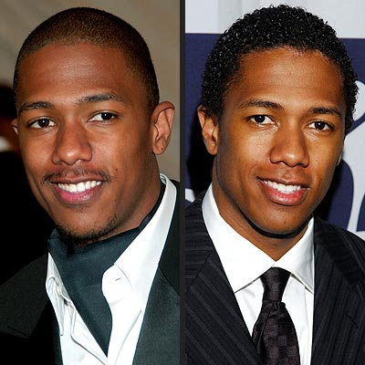 SMOOTH VS. CURLY photo | Nick Cannon