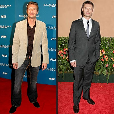 BUTTONED DOWN VS. BUTTONED UP photo | Ryan Seacrest