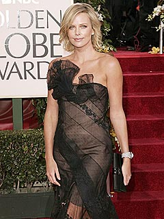 Globes '06 Best & Worst Dressed | Charlize Theron