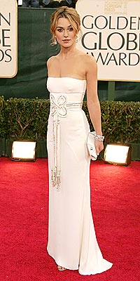 Globes '06 Best & Worst Dressed - KEIRA KNIGHTLEY: BEST - Golden Globe Awards 2004, Golden Globes, Keira Knightley : People.com