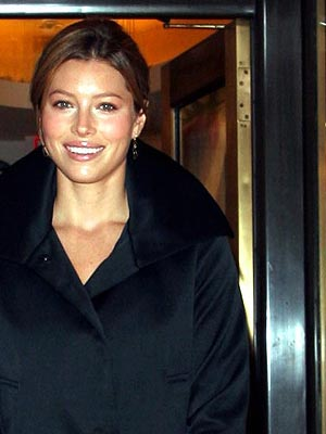 What Makes Jessica Biel Feel Merry?