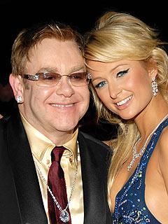 Elton's Oscar Bash! | Elton John, Paris Hilton