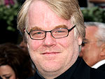 Philip Seymour Hoffman Buys a (Toy) Motorcycle