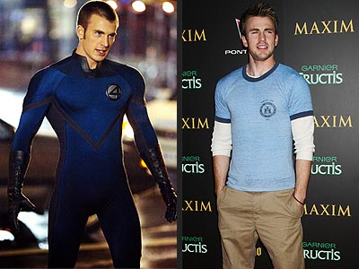 Chris Evans aka Human Torch F4