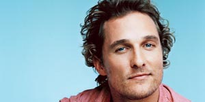 100 Sexy Men in 1 Minute | Matthew McConaughey