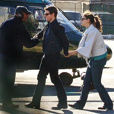GOODBYE, N.Y.! photo | Katie Holmes, Tom Cruise