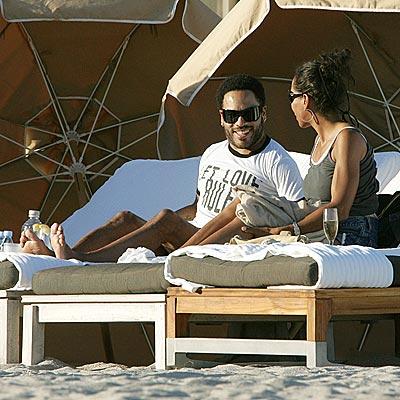 BUBBLY GOOD TIME photo | Lenny Kravitz