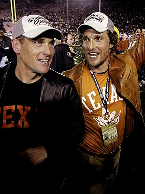 TEAM SPIRIT photo | Lance Armstrong, Matthew McConaughey