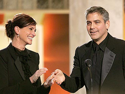 'OCEAN'S' TWO photo | George Clooney, Julia Roberts