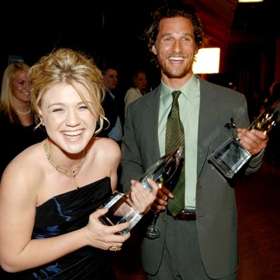 LUCKY LONESTARS photo | Kelly Clarkson, Matthew McConaughey