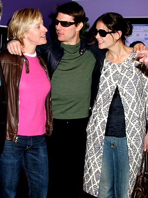 ELECTRIC BOOGALOO photo | Ellen DeGeneres, Katie Holmes, Tom Cruise