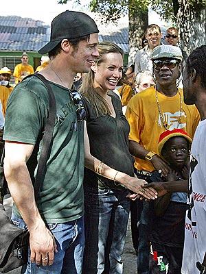 PORT OF CALL photo | Angelina Jolie, Brad Pitt