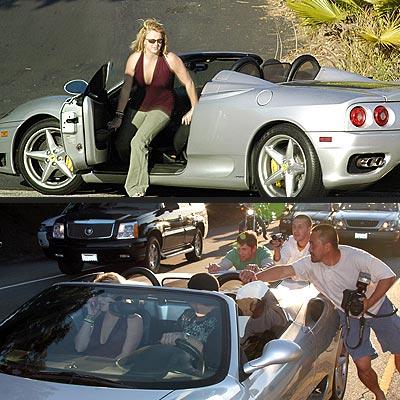 BREAKDOWN LANE photo | Britney Spears
