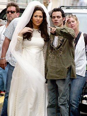 WEDDING BELLE  photo | Jennifer Lopez, Marc Anthony