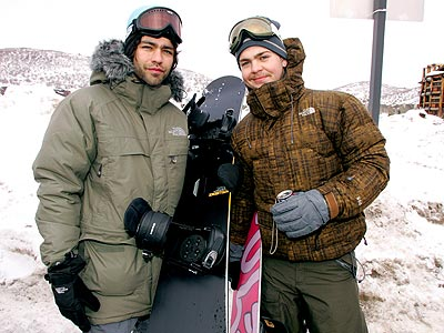 POWDER HUNGRY photo | Adrian Grenier, Jack Osbourne