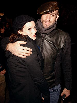 MOURNING A FRIEND photo | Joseph Fiennes, Winona Ryder