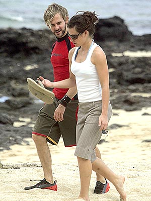 'LOST' & FOUND photo | Dominic Monaghan, Evangeline Lilly